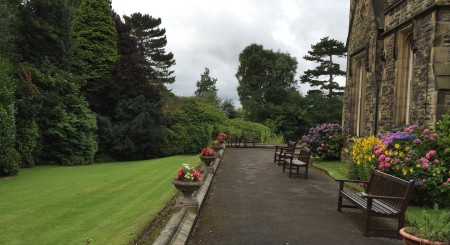 Bickham House's immaculate gardens